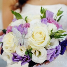 purple-white-cream-eustoma-roses-butterfly-wedding-bouquet