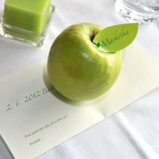 green-apple-sitting-card-wedding-prague