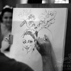 Caricature-on-wedding-prague
