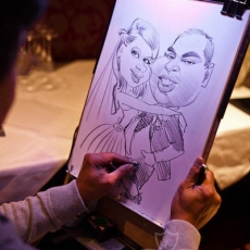 Wedding-caricature-prague