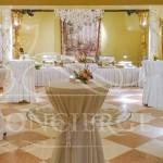 Christal-ballroom-Alchymist-Grand-Hotel-and-Spa-cocktail-tables-wedding