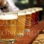 Prague-brewery-tour-beer-drinking